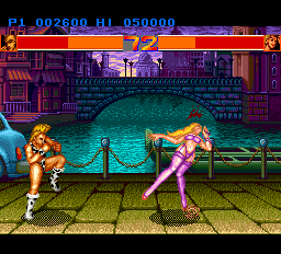 Strip Fighter II ingame screenshot