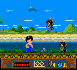 Jackie Chan's Action Kung Fu ingame screenshot