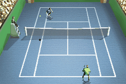 Agassi Tennis Generation ingame screenshot