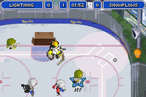 Backyard Hockey ingame screenshot