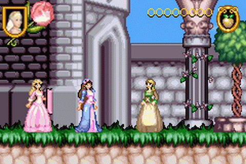 Barbie - The Princess and the Pauper ingame screenshot
