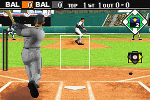 Baseball Advance ingame screenshot