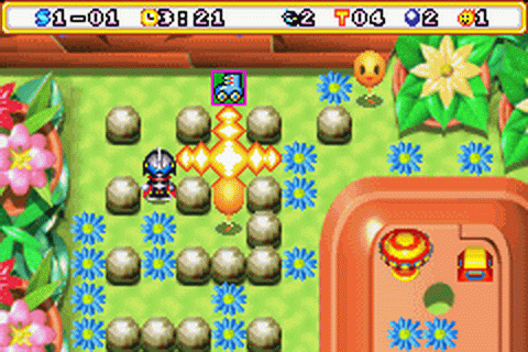 Bomberman Max 2 - Red Advance ingame screenshot