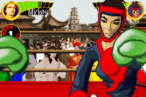 Boxing Fever ingame screenshot