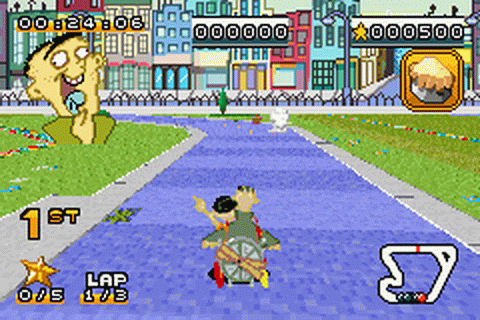 Cartoon Network Speedway ingame screenshot