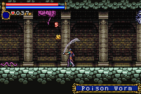 Castlevania - Circle of the Moon ingame screenshot