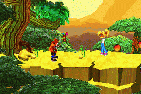 Crash Bandicoot Purple - Ripto's Rampage ingame screenshot
