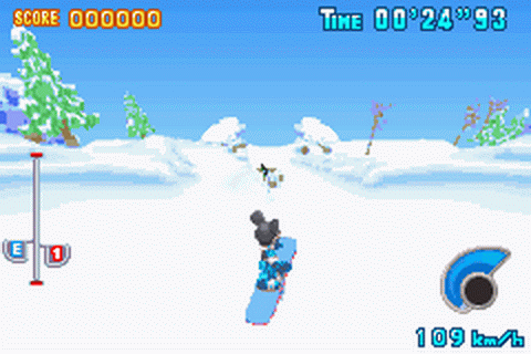 Disney Sports - Snowboarding ingame screenshot