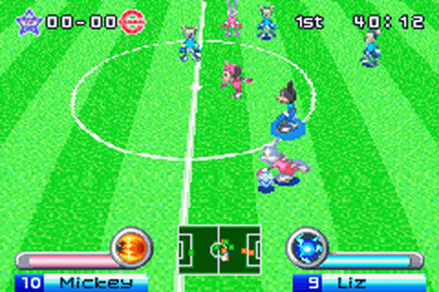 Disney Sports - Soccer ingame screenshot