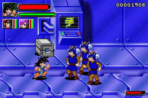 Dragon Ball GT - Transformation ingame screenshot