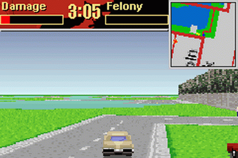 Driver 2 Advance ingame screenshot