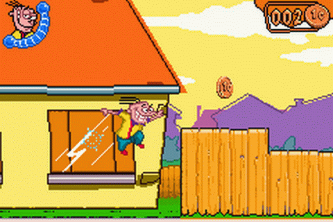 Ed, Edd n Eddy - The Mis-Edventures ingame screenshot