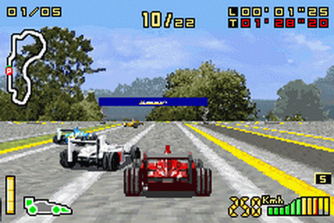 F1 2002 ingame screenshot