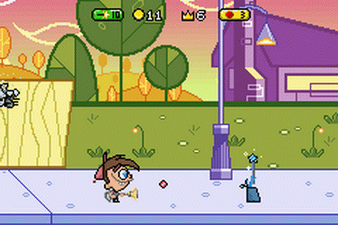 Fairly OddParents!, The - Breakin' da Rules ingame screenshot