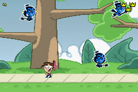 Fairly OddParents!, The - Clash with the Anti-World ingame screenshot