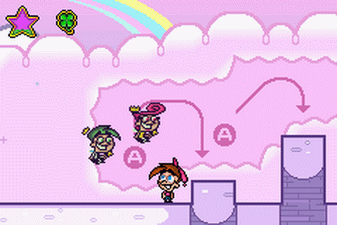 Fairly OddParents!, The - Shadow Showdown ingame screenshot