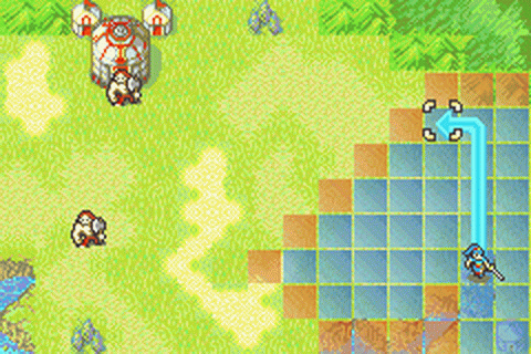 Fire Emblem ingame screenshot