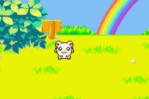 Hamtaro - Rainbow Rescue ingame screenshot
