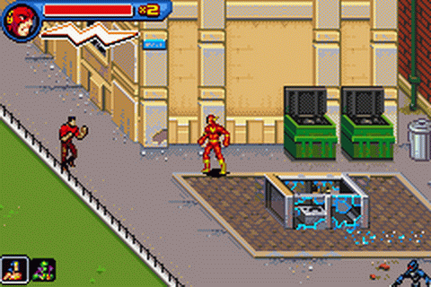 Justice League Heroes - The Flash ingame screenshot