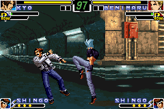 King of Fighters EX, The - NeoBlood ingame screenshot