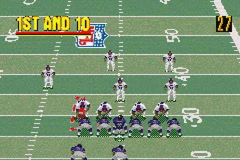 Madden NFL 2002 ingame screenshot