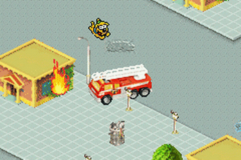Matchbox Cross Town Heroes ingame screenshot