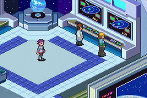 Mega Man Battle Network 4 - Blue Moon ingame screenshot