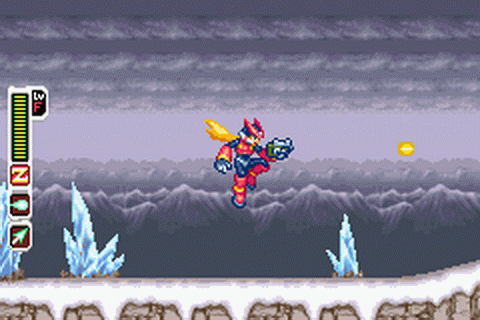 Mega Man Zero 3 ingame screenshot