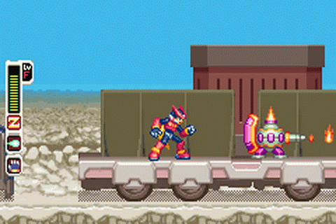 Mega Man Zero 4 ingame screenshot