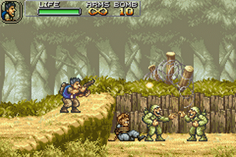 Metal Slug Advance ingame screenshot