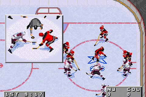 NHL 2002 ingame screenshot