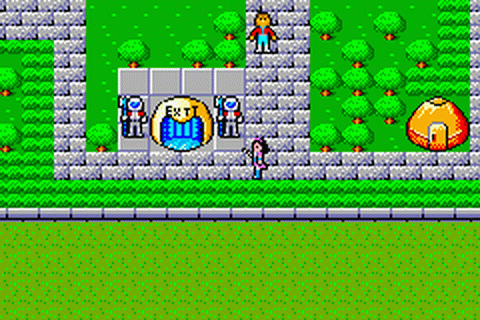 Phantasy Star Collection ingame screenshot