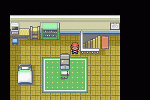Pokemon - Fire Red Version ingame screenshot