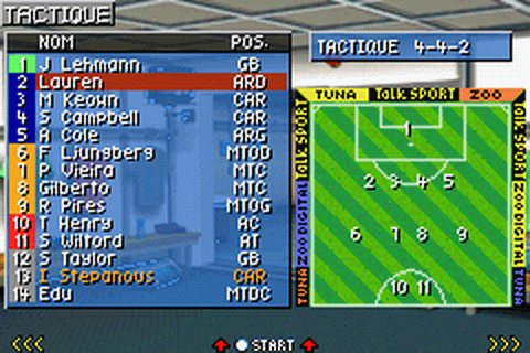 Premier Manager 2003-04 ingame screenshot
