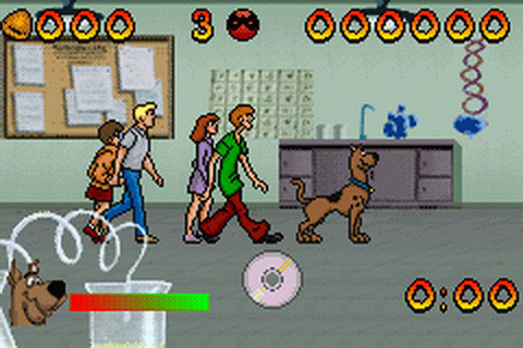 Scooby-Doo and the Cyber Chase ingame screenshot