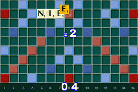Scrabble ingame screenshot