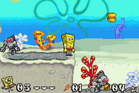 SpongeBob SquarePants - Battle for Bikini Bottom ingame screenshot