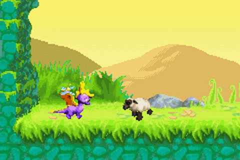 Spyro Orange - The Cortex Conspiracy ingame screenshot