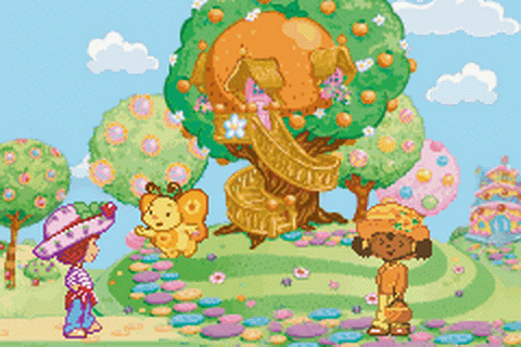 Strawberry Shortcake - Ice Cream Island - Riding Camp ingame screenshot