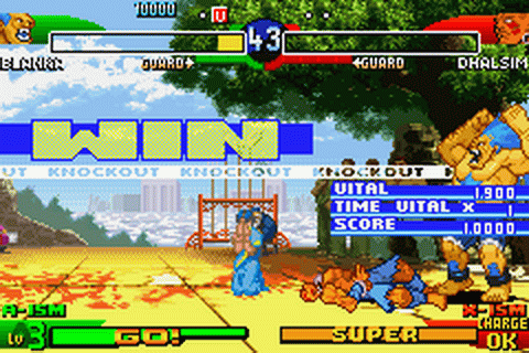 Street Fighter Alpha 3 ingame screenshot