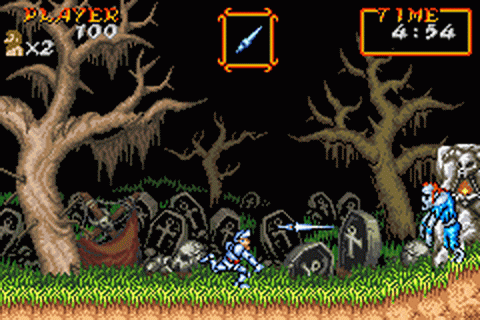 Super Ghouls'n Ghosts ingame screenshot