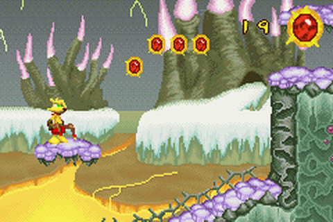 Ty the Tasmanian Tiger 3 - Night of the Quinkan ingame screenshot