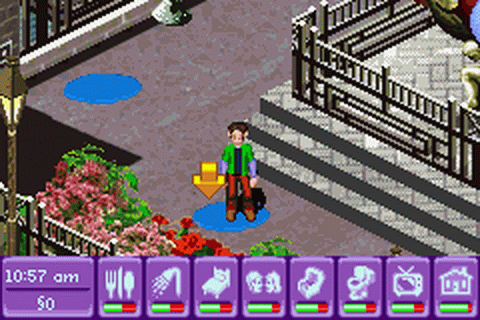 Urbz, The - Sims in the City ingame screenshot