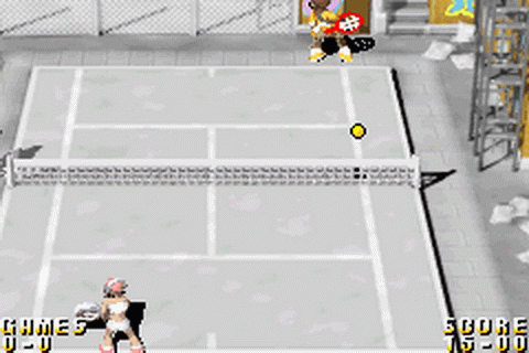 World Tennis Stars ingame screenshot