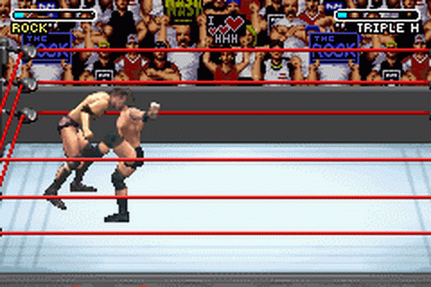 WWE - Road to WrestleMania X8 ingame screenshot