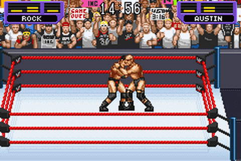 WWF - Road to WrestleMania ingame screenshot