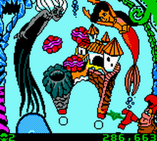 Little Mermaid II, The - Pinball Frenzy ingame screenshot