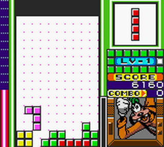 Magical Tetris Challenge ingame screenshot