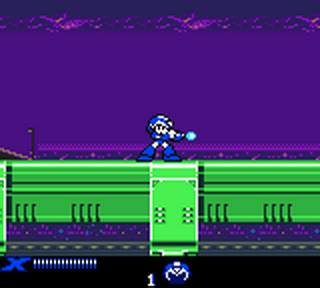 Mega Man Xtreme ingame screenshot