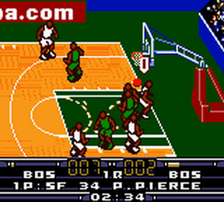 NBA In the Zone 2000 ingame screenshot